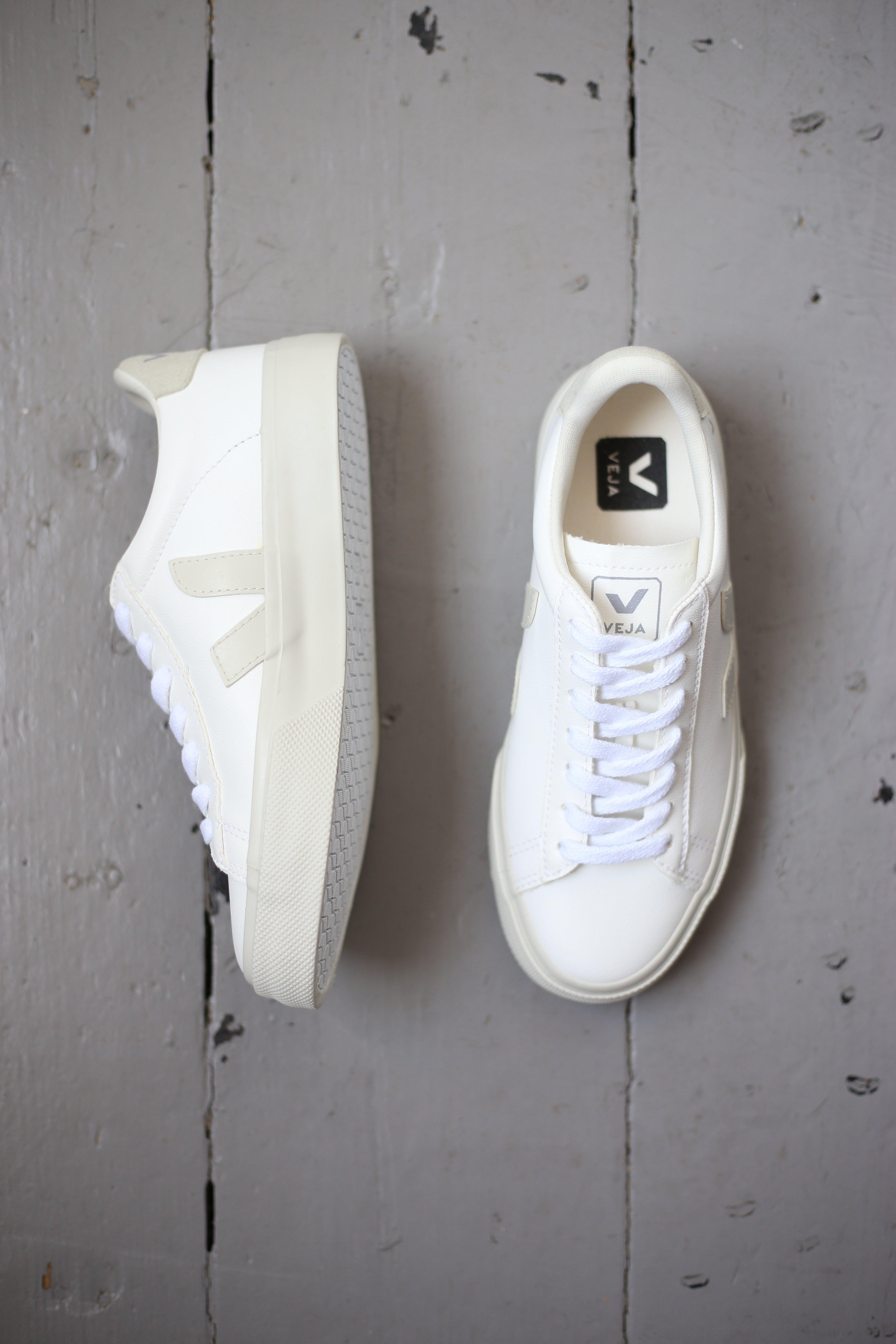 Campo White Pierre Natural Vegan Sneakers