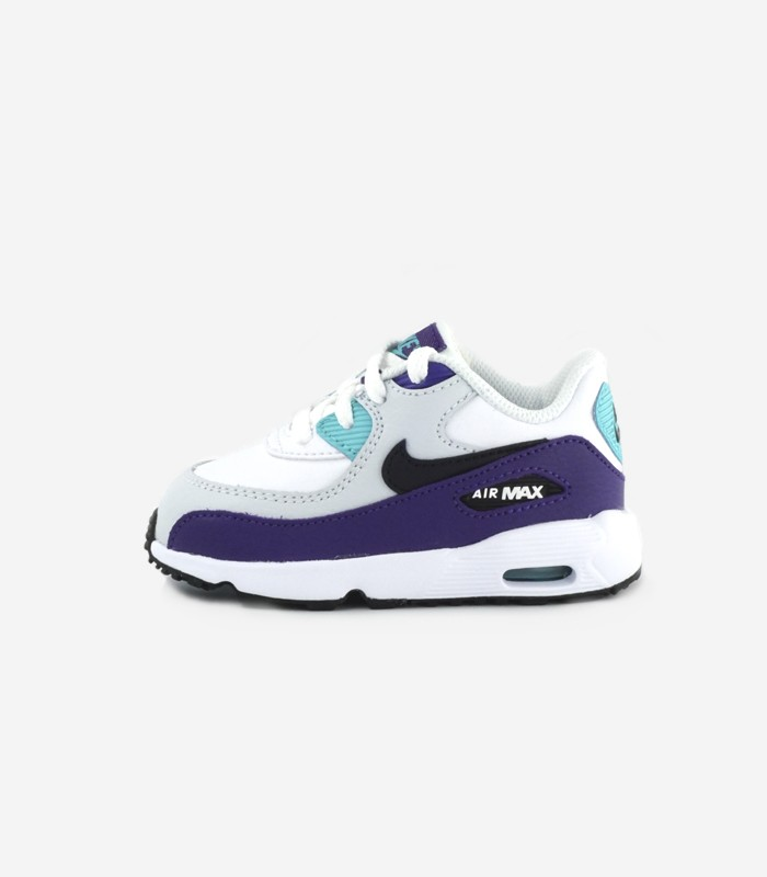 Nike Air Max 90 Flowers Women White Purple Running Shoes New Release PPQpW3