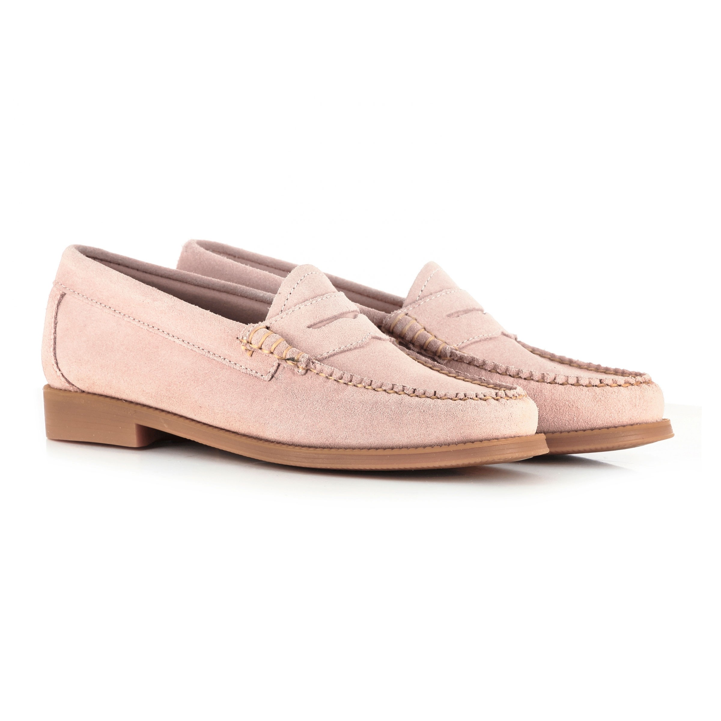 Gh Bass Weejun Wmn Penny Loafers Pink