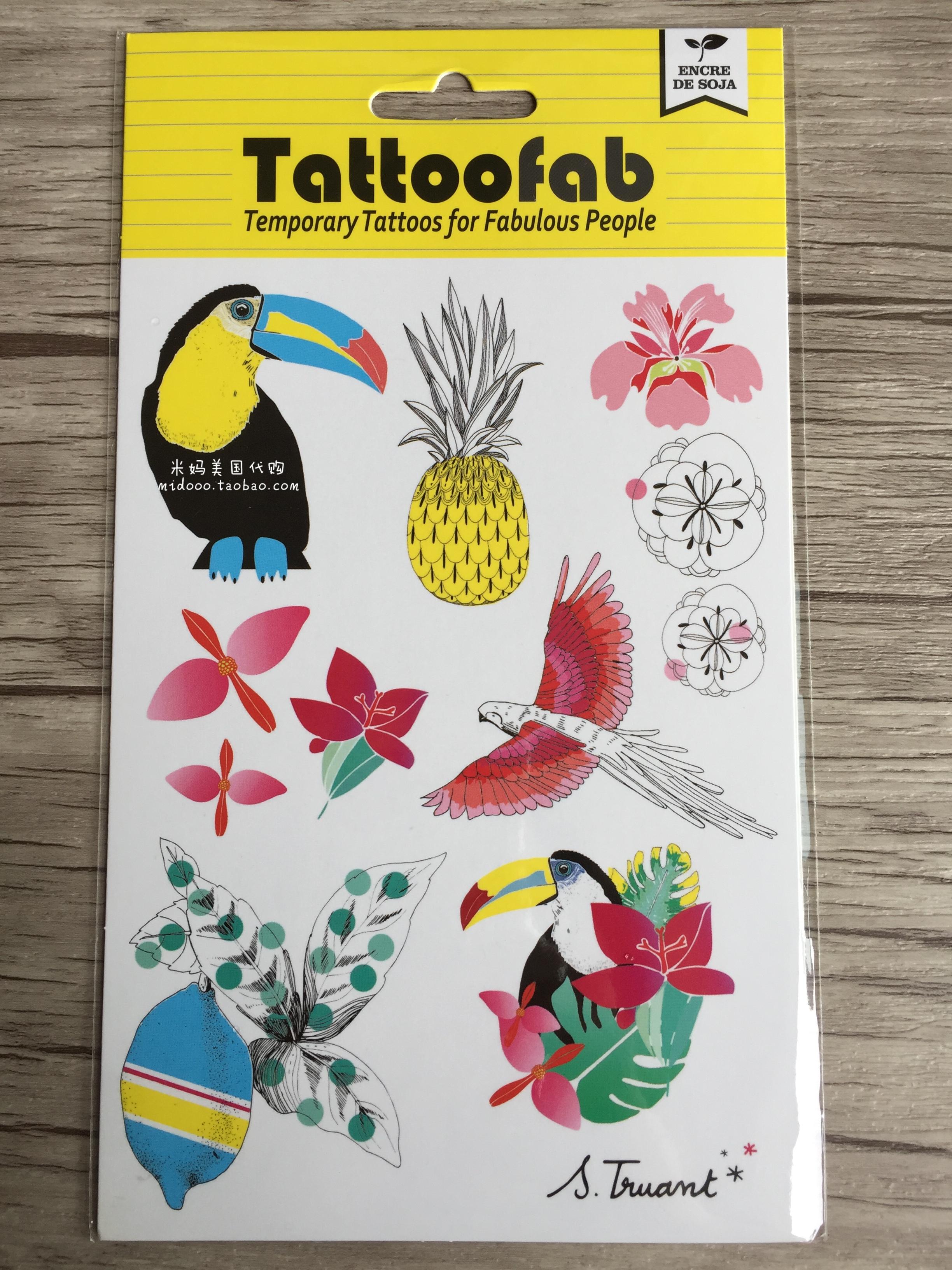 Xruisin Packs dautocollants de Tatouage dHalloween 12 Feuilles dautocollants de Tatouage de Visage Tatouages ??temporaires dHalloween