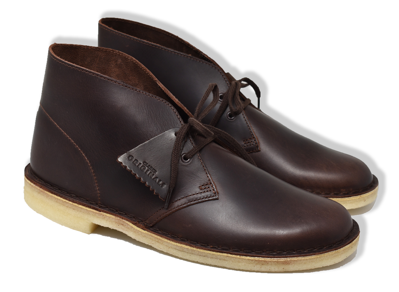 Horizontal Gruñón caloría  Trouva: Chestnut Leather Desert Boots