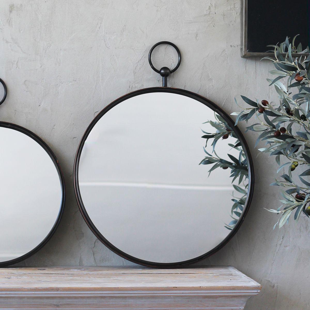 Trouva Grand Miroir Rond Neville