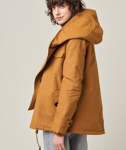 Honey Gold Sandison Coat Honey Gold Sandison Coat by Sessun