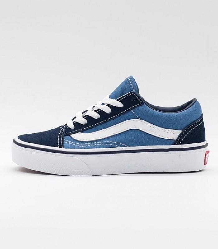 zapatillas vans azul