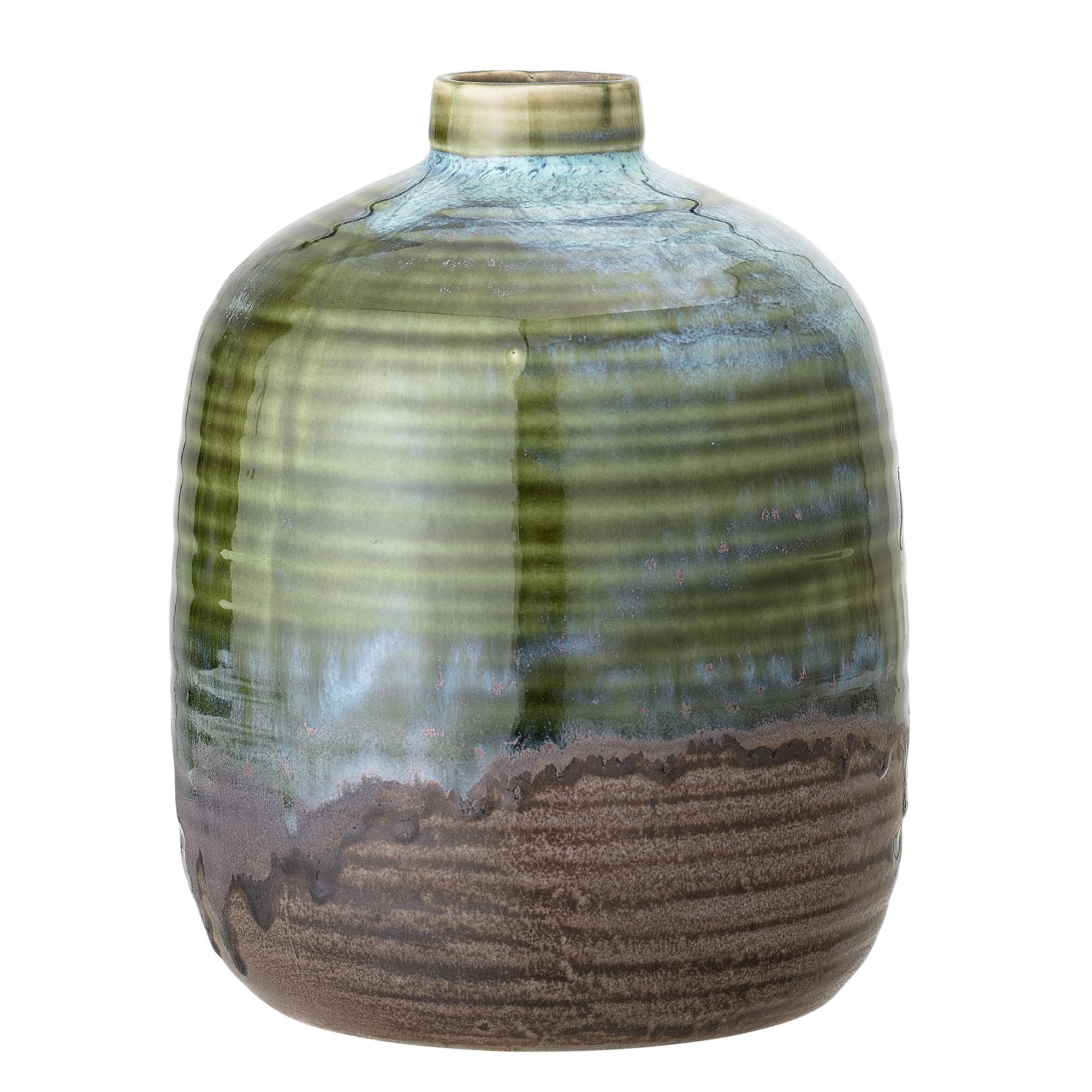 Trouva Vase Stoneware Green