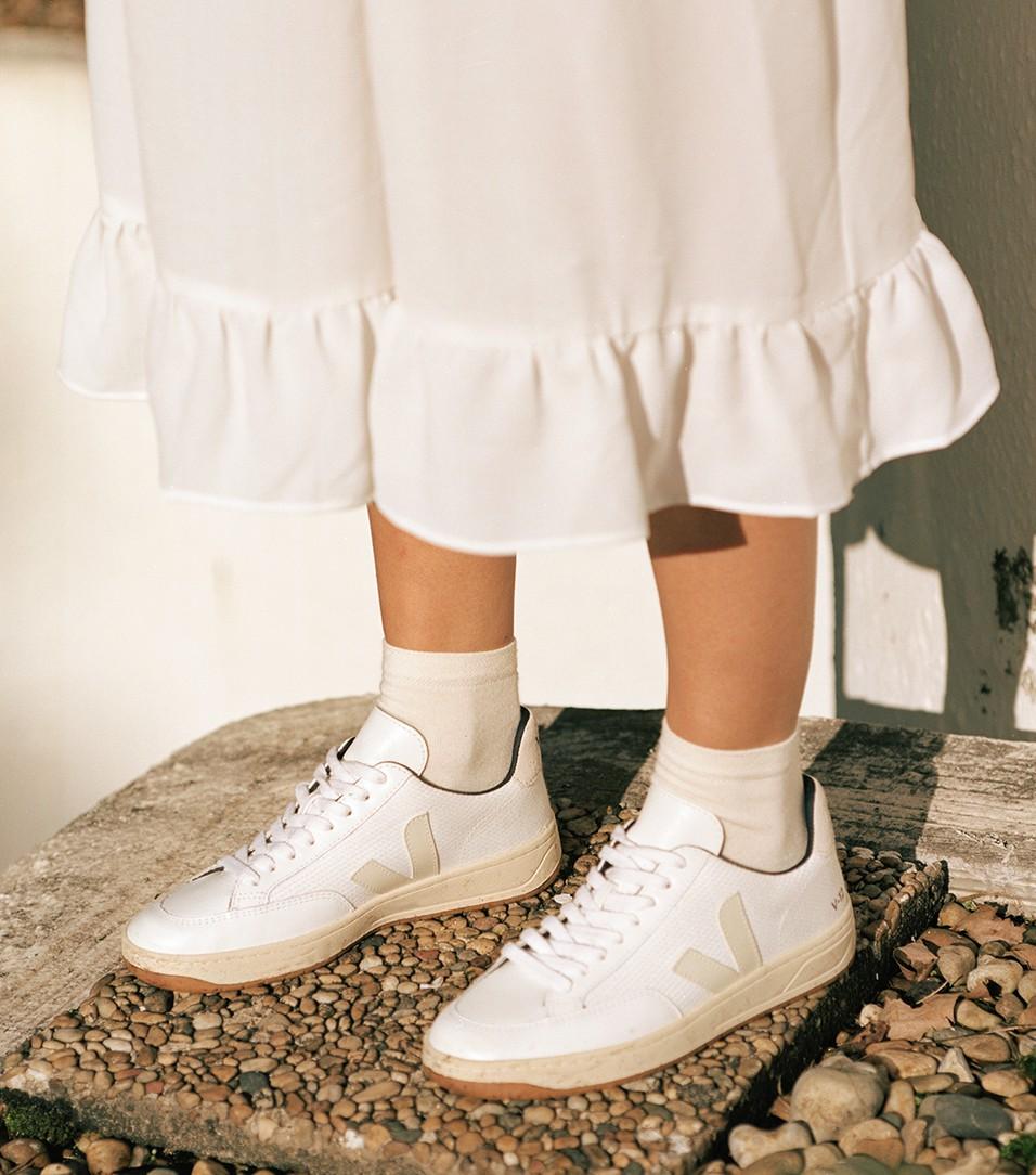 Trouva: White Natural V12 B Mesh Sneaker