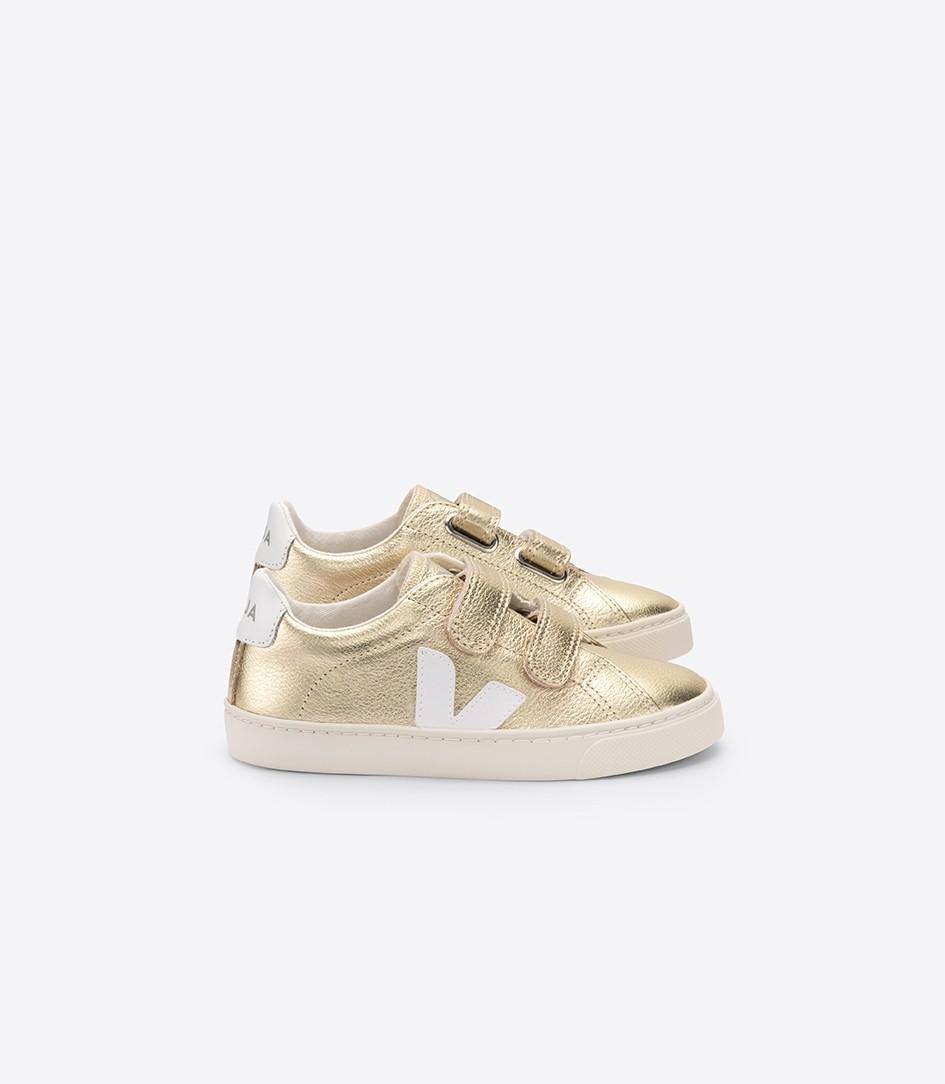 Trouva: Small Gold White Esplar Shoes