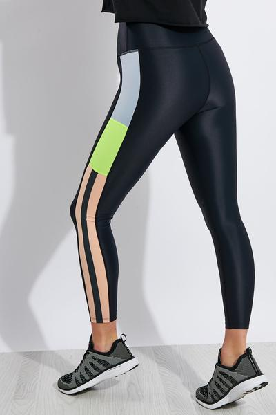 Womens Black Leggings YAYA Faux Leather Size 36//uk8
