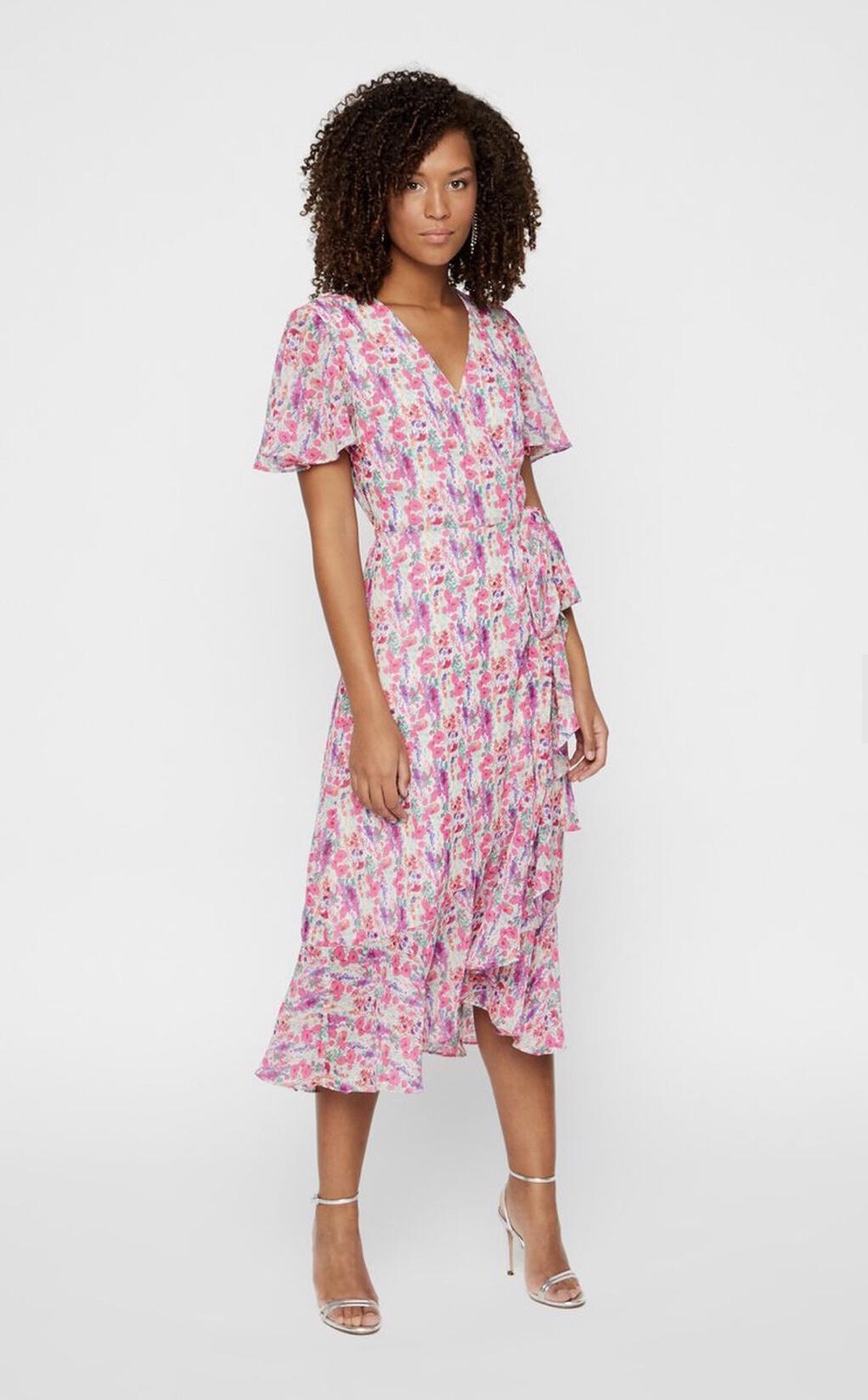 y.a.s esmeralda wrap dress