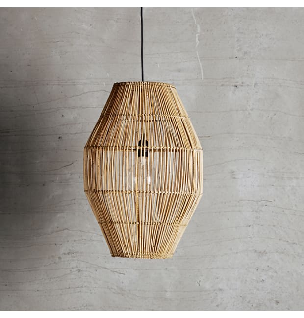Tine K Home Large Rattan Lampshade