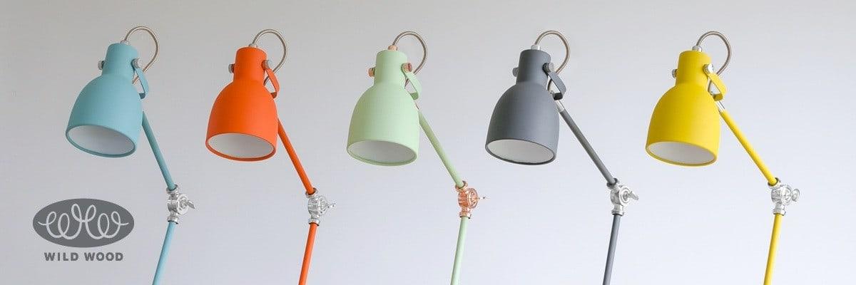Wild Wood Goldfish Orange Task Lamp