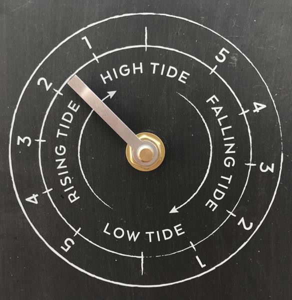 LIGA Moon Tide Time Clock