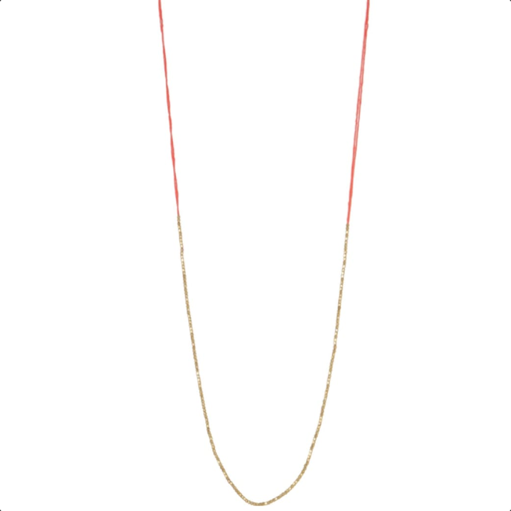 The West Village Coral Lily Necklace