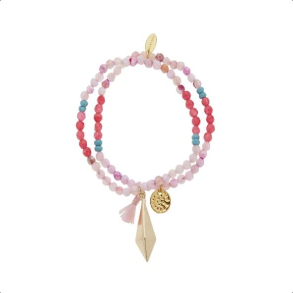 The West Village Pink Monica Bracelet