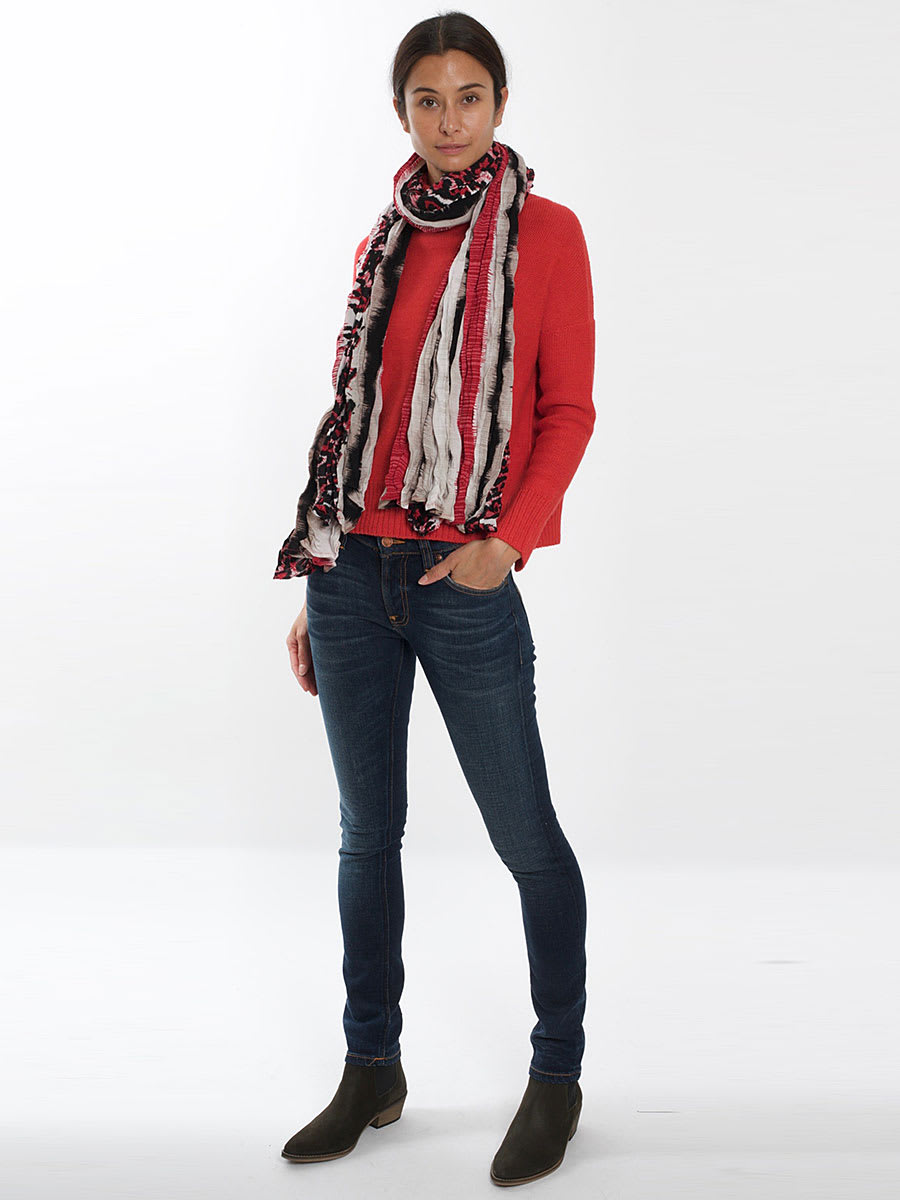 Aiayu Red Nayana Sweater