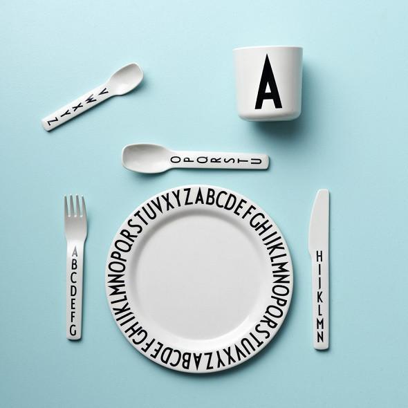 Design Letters ABC Melamine Cutlery Set