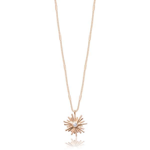 Joma Sunburst Gold Necklace