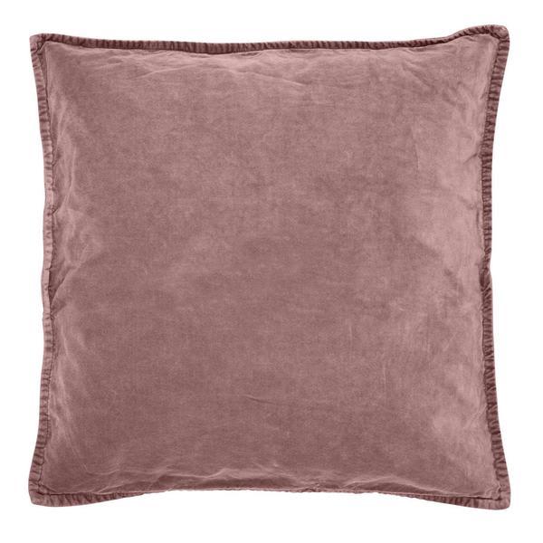 Ib Laursen Dusky Pink Velvet Cushion