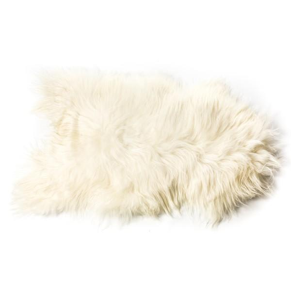 The Organic Sheep White Sheepskin Icelandic Longhaired Rug