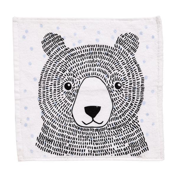 Bloomingville Blue Bear Washcloth