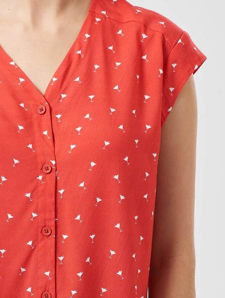 Sugarhill Boutique Coco Cocktail Time Kimono Shirt