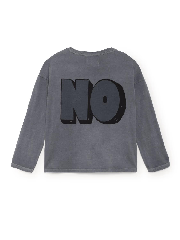 Bobo Choses Yes No Round Neck Kids T Shirt