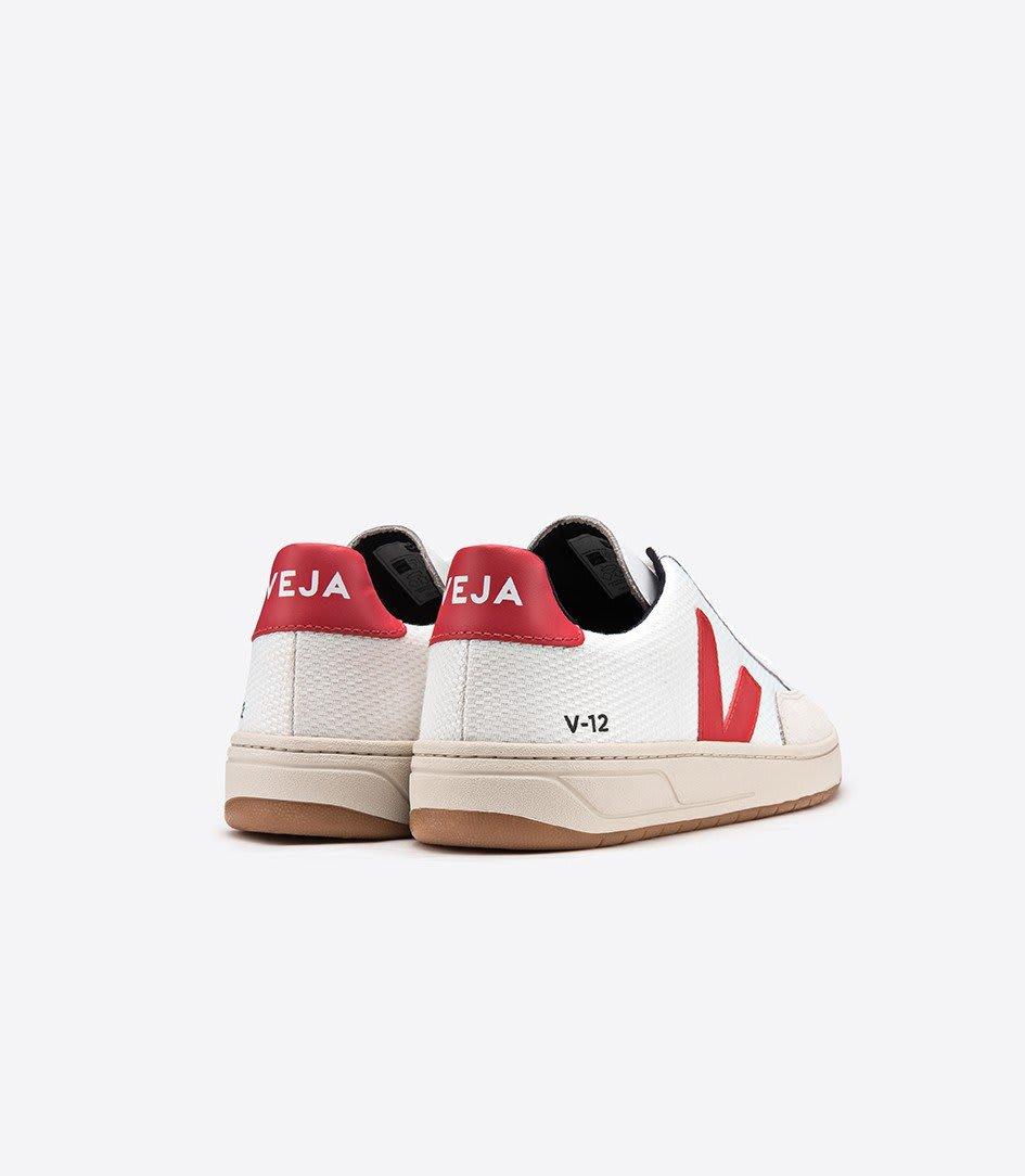 Veja White V 12 B Mesh Pekin Sneakers