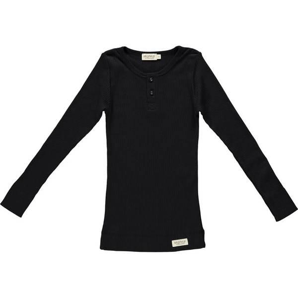 MarMar Copenhagen Black Rib Long Sleeve T Shirt