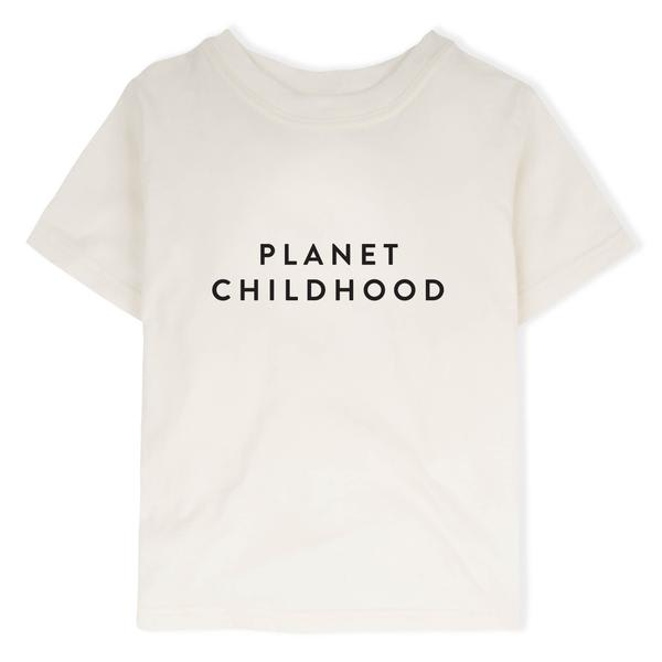 Organic Zoo Natural Planet Childhood Tee