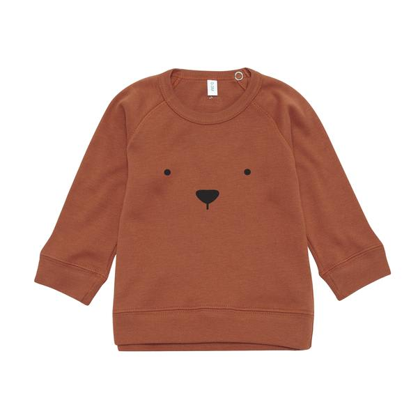 Organic Zoo Rust Bear Sweatshirt