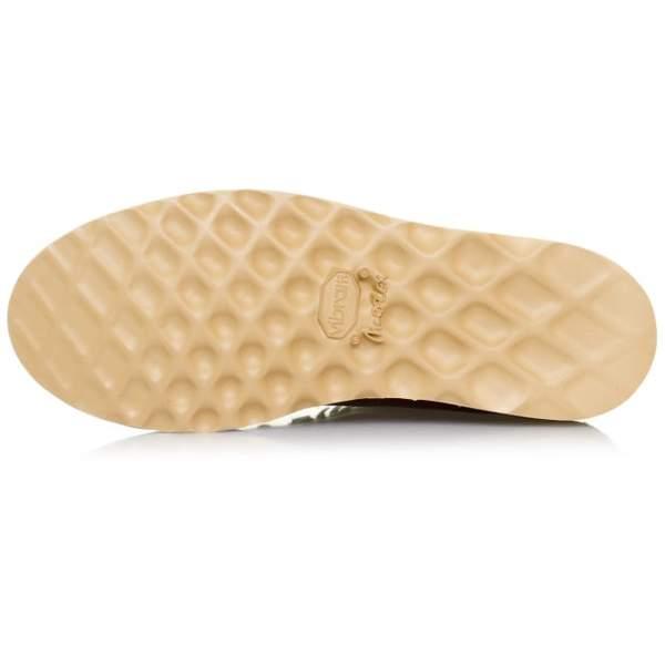 Fracap Mens M 120 Natural Vibram Sole Scarponcino Boot In Brown 303
