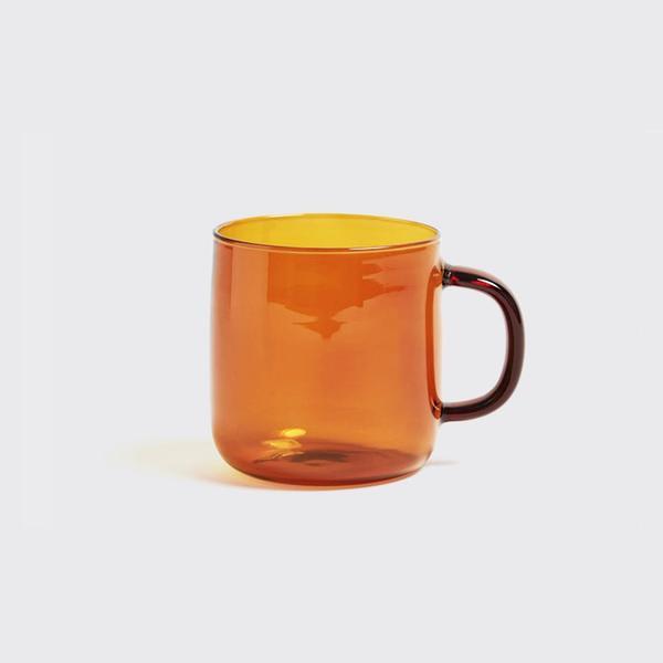 HAY Amber Borosilicate Mug