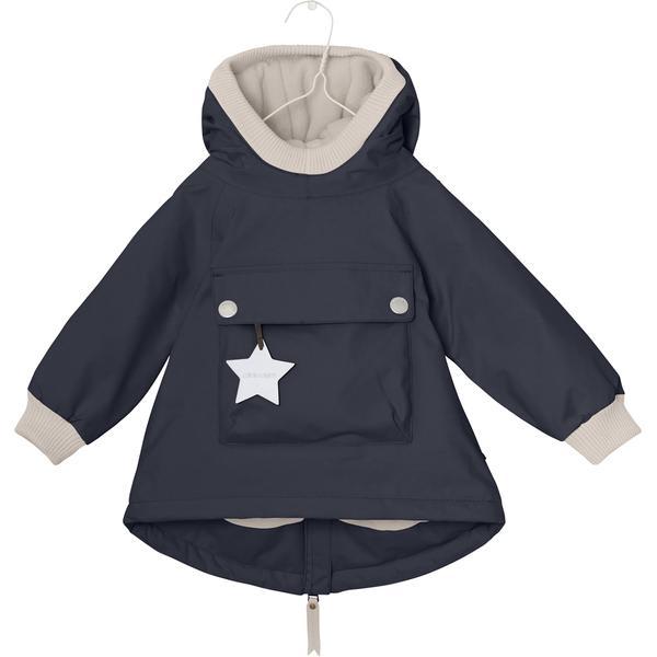 Mini a ture Navy Baby Wen Anorak Coat