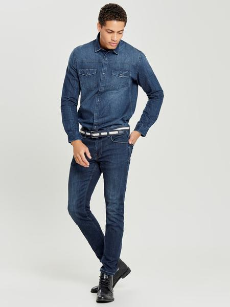 Only & Sons Dark Blue Kurtis Denim Shirt