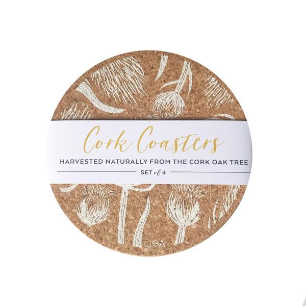 LIGA Thistles S 4 Coasters