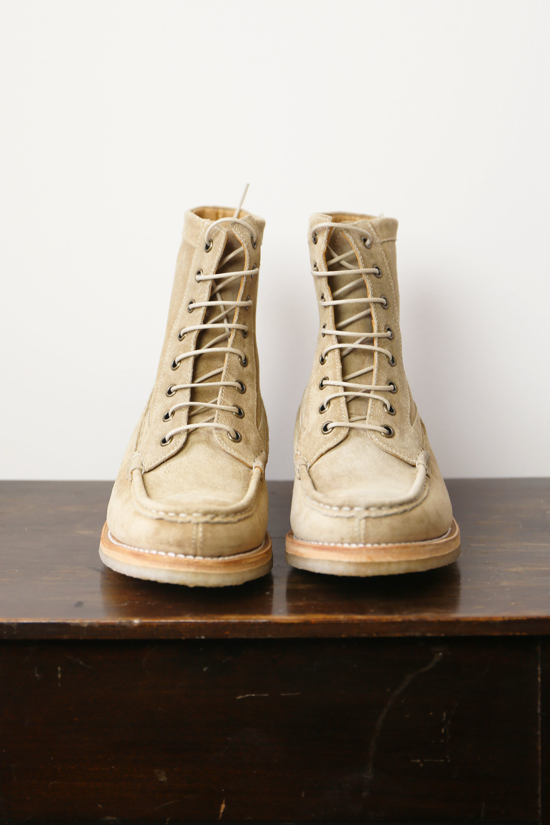 Grenson With Crepe Sole Cleo Maple Suede Boots