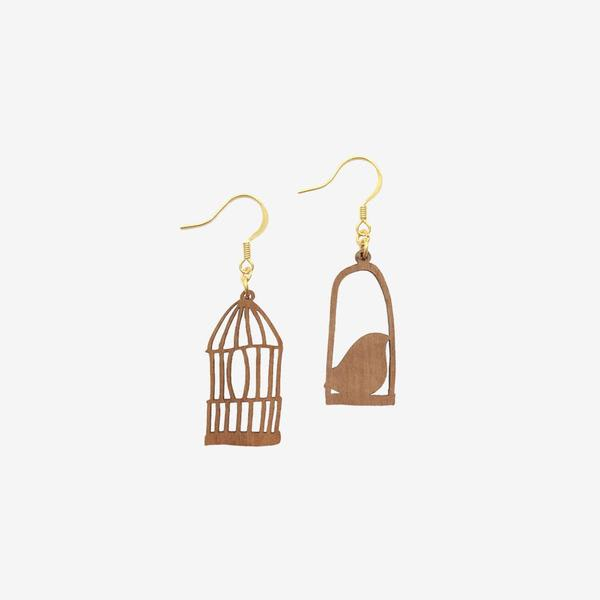 Freedom At Dawn Gold Earrings