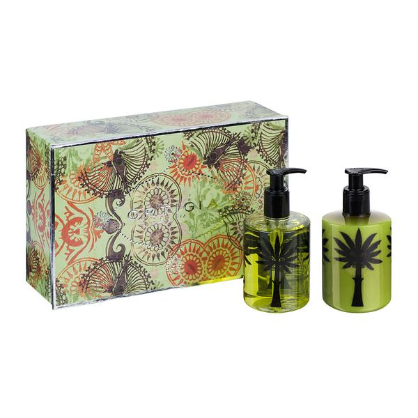 Ortigia Fico Dindia Liquid Soap And Body Cream Set