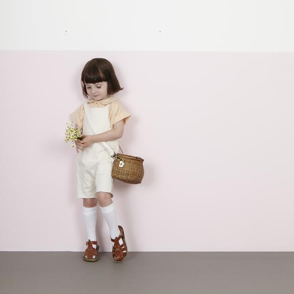 Olli Ella Natural Mini Chari Bag