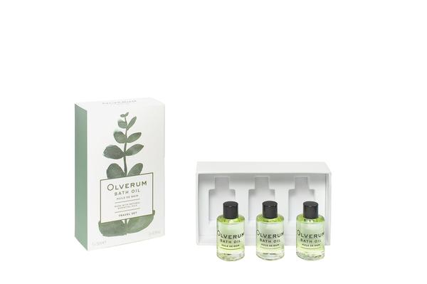 Olverum Deluxe Travel Set Bath Oil