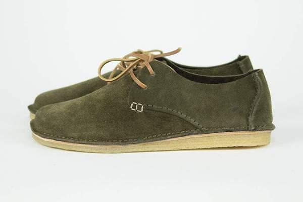 Yogi Olive Caden Suede Shoes