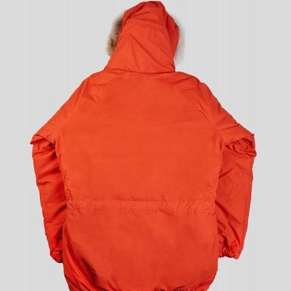 Arnold & Co Orange Nigel Cabourn Everest Parka