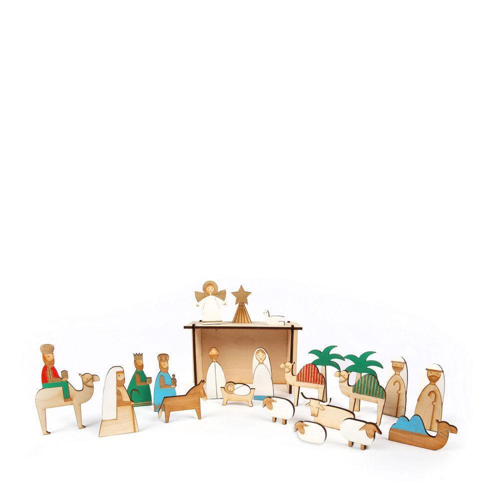 Meri Meri Wooden Nativity Advent Calendar