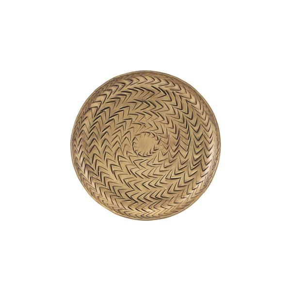 House Doctor Small Brass Finish Tray