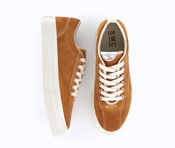 Stepney Workers Club Dellow Suede Sneaker Tan