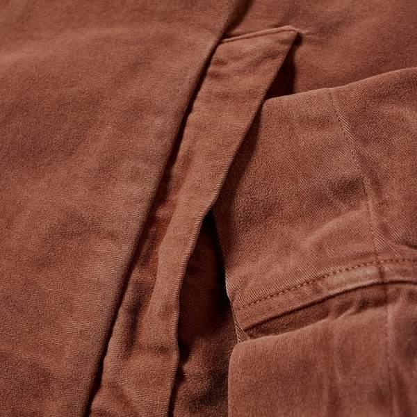 Our Legacy  Pink Bleach Vintage Moleskin Drip Yoke Shirt