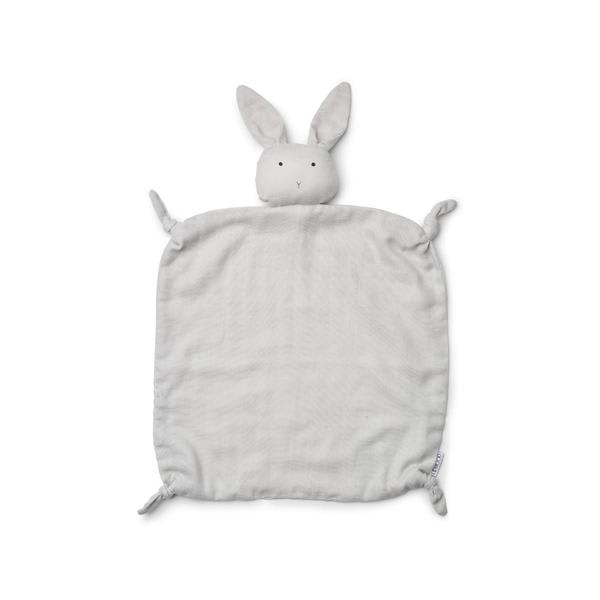 Liewood Dumbo Grey Rabbit  Agnete Cuddle Cloth