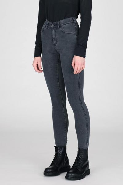 Dr Denim Grey Lexy Lush Jeans