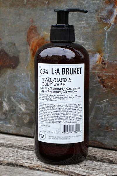L:A Bruket Hand And Body Wash