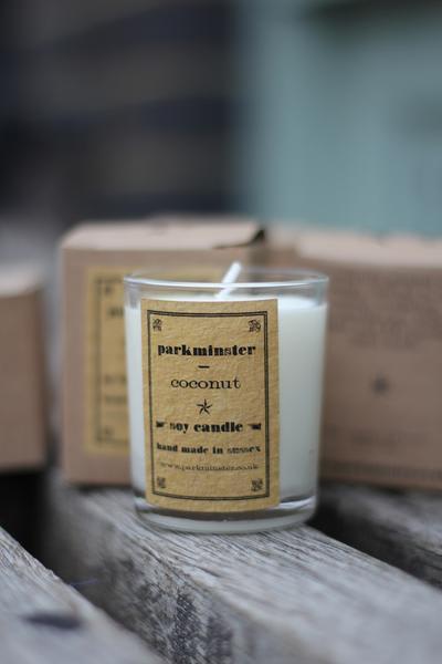 Parkminster Coconut Candle